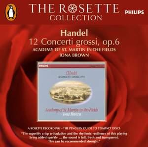 Handel: Concerti grossi Op. 6 Nos. 1-12 HWV319-330