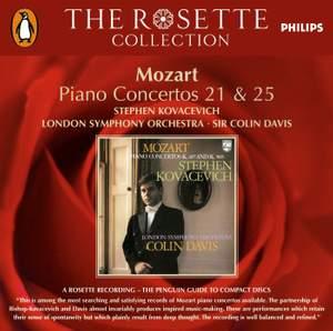 Mozart: Piano Concertos No. 21 & 25 Product Image