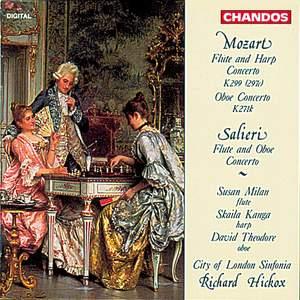 Mozart: Flute & Harp Concerto & Oboe Concerto