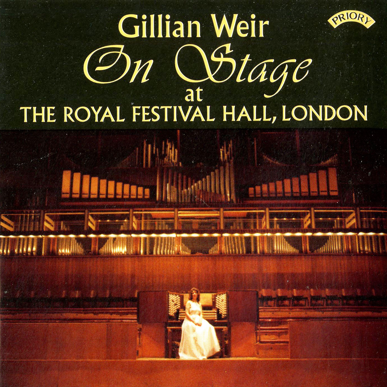 Dame Gillian Weir plays the organ of the Royal Festival Hall, London
