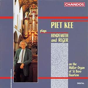 Hindemith & Reger - Organ works