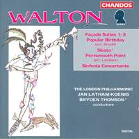 Façade Suites; Siesta; Sinfonia Concertante