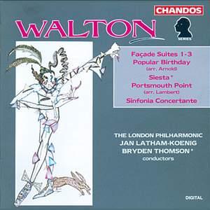 Walton: Façade Suites & other orchestral works