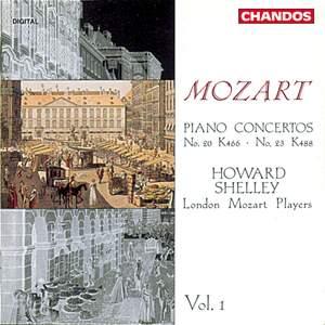 Mozart: Piano Concertos Nos 20 & 23