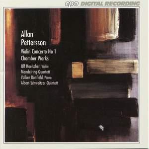 Allan Petterson: Violin Concerto No. 1 & Chamber Works Product Image