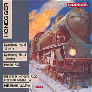 Honegger: Symphony No. 5 'Di tre re', etc.