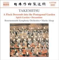 Takemitsu: A Flock Descends into the Pentagonal Garden