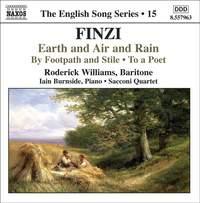 The English Song Series Volume 15 - Finzi 2