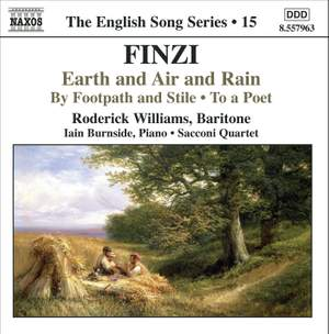 The English Song Series Volume 15 - Finzi 2 Product Image