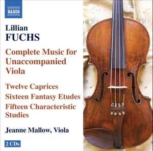 Lillian Fuchs - Complete Music for Unaccompanied Viola
