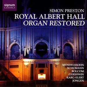 Royal Albert Hall Organ Restored - Simon Preston Product Image