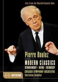 Pierre Boulez conducts Modern Classics