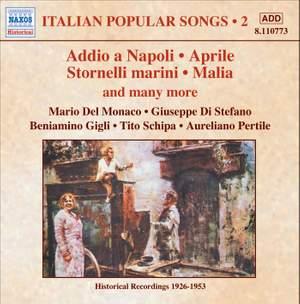 Italian Popular Songs Volume 2