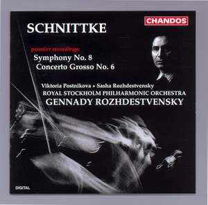 Schnittke: Concerto Grosso No. 6 & Symphony No. 8 Product Image