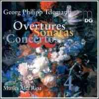Telemann - Overtures, Sonatas & Concertos Volume 4