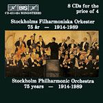 Stockholm Philharmonic Orchestra - 75 Years (1914-1989)