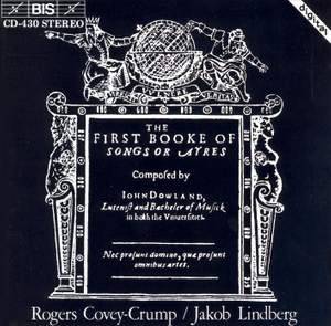 Dowland: First Booke of Songes (1597) Product Image