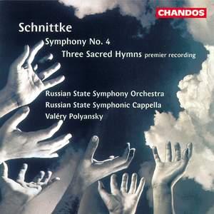 Schnittke: Three Sacred Hymns & Symphony No. 4 Product Image