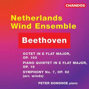 Beethoven: Quintet, Octet & Symphony No. 7 arr. for winds