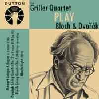 Mozart: Adagio & Fugue for strings, Dvorak & Bloch: String Quartets