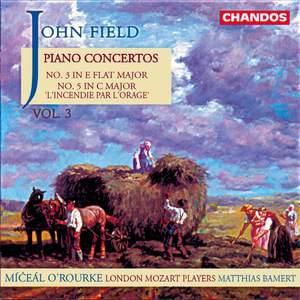 Field: Piano Concertos, Vol. 3