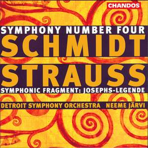 Schmidt: Symphony No. 4 & Josephs-Legende