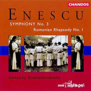 Enescu: Symphony No. 3 & Romanian Rhapsody