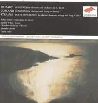 Mozart: Clarinet Concertos & Duett-Concertino