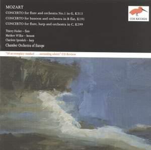 Mozart: Concertos for flute, bassoon and flute & harp