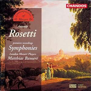 Contemporaries of Mozart - Antonio Rosetti