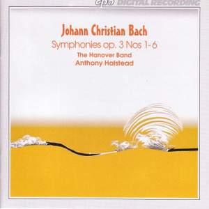 Bach, J C: Symphonies Op. 3