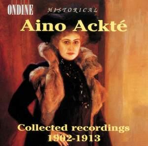Historical Aino Ackté