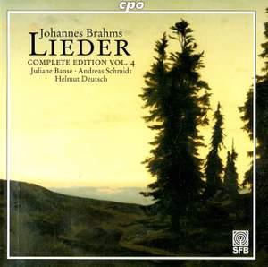 Brahms - Complete Lieder Edition Volume 4