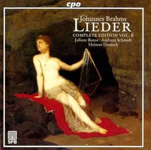 Brahms - Complete Lieder Edition Volume 6