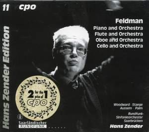 Feldman: Flute & Orchestra, Cello & Orchestra, Oboe & Orchestra