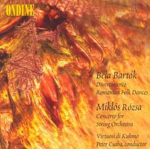 Bartók: Divertimento for Strings, Sz. 113, etc.