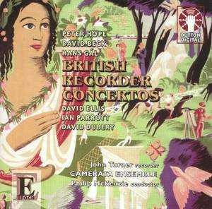British Recorder Concertos