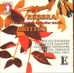 Britten & Rubbra: Complete Recorder Works