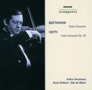 Beethoven: Violin Concerto & Viotti: Violin Concerto No. 22 Product Image