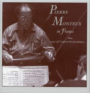 Pierre Monteux in France