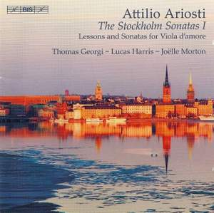 Ariosti - The Stockholm Sonatas I Product Image