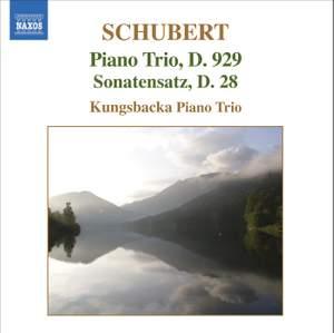 Schubert: Piano Trio No. 2 & Movement for piano trio