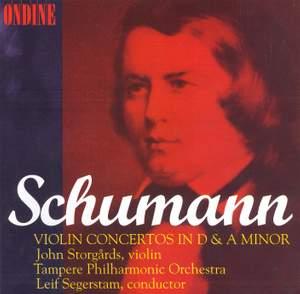 Schumann: Violin Concerto in D minor, WoO 23, etc.