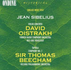Sibelius: Violin Concerto in D minor, Op. 47, etc.