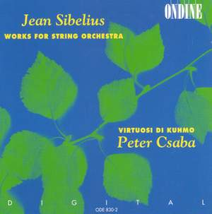 Jean Sibelius Works for String Orchestra Product Image