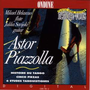 Astor Piazzolla Works for Flute and Guitar