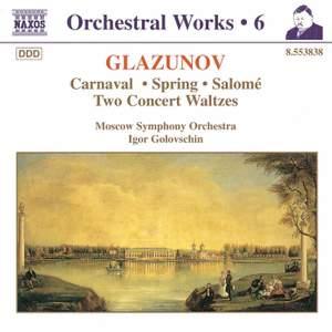 Glazunov - Orchestral Works Volume 6 Product Image