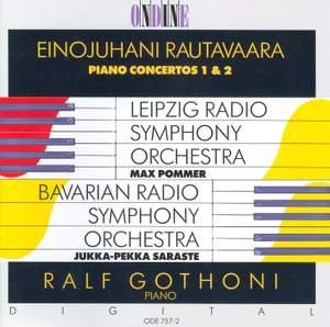 Rautavaara: Piano Concertos Nos. 1 & 2