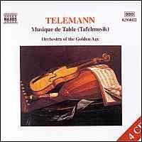 Telemann: Tafelmusik I-III