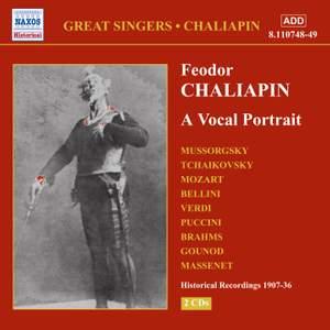 Feodor Chaliapin: A Vocal Portrait